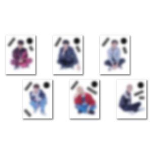 「ONEUS POPUP STORE : BLACK MIRROR」クリアステッカー(全6種ランダム)