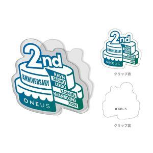 【ONEUS JAPAN DEBUT 2ND ANNIVERSARY】アクリルクリップ
