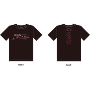BOYFRIEND JAPAN CONCERT 2017『I Miss You』Tシャツ