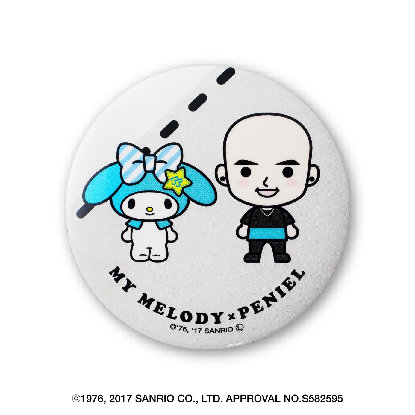 【BTOB × マイメロディ コラボグッズ第一弾】缶バッジ(全7種・ランダム)