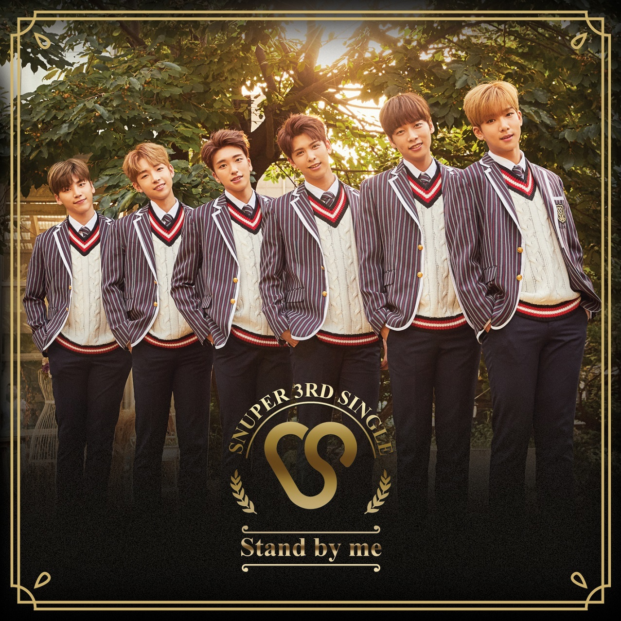 SNUPER 日本 3rd Single『Stand by me』通常盤A