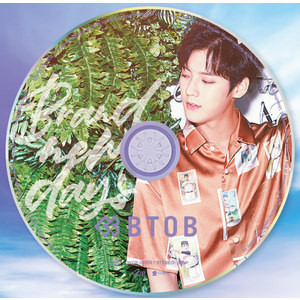 BTOB 日本7thシングル『Brand new days ~どんな未来を~』メンバー別ジャケット盤(MINHYUK ミンヒョク)