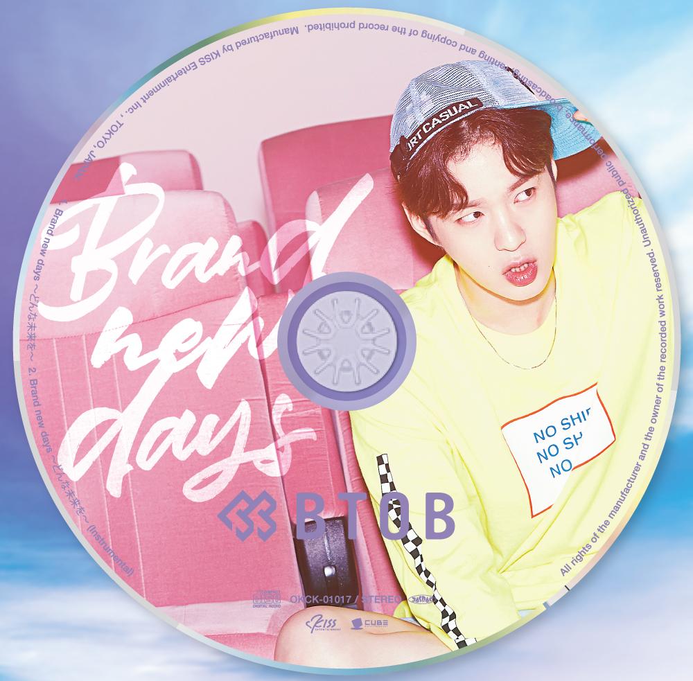 BTOB 日本7thシングル『Brand new days ~どんな未来を~』メンバー別ジャケット盤(CHANGSUB チャンソプ)