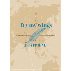 BOYFRIEND 2018年第1弾シングル『Try my wings』初回限定盤【予約】
