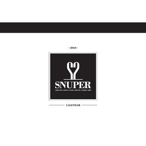【SNUPER韓国オフィシャルグッズ】2018 Calender【予約】