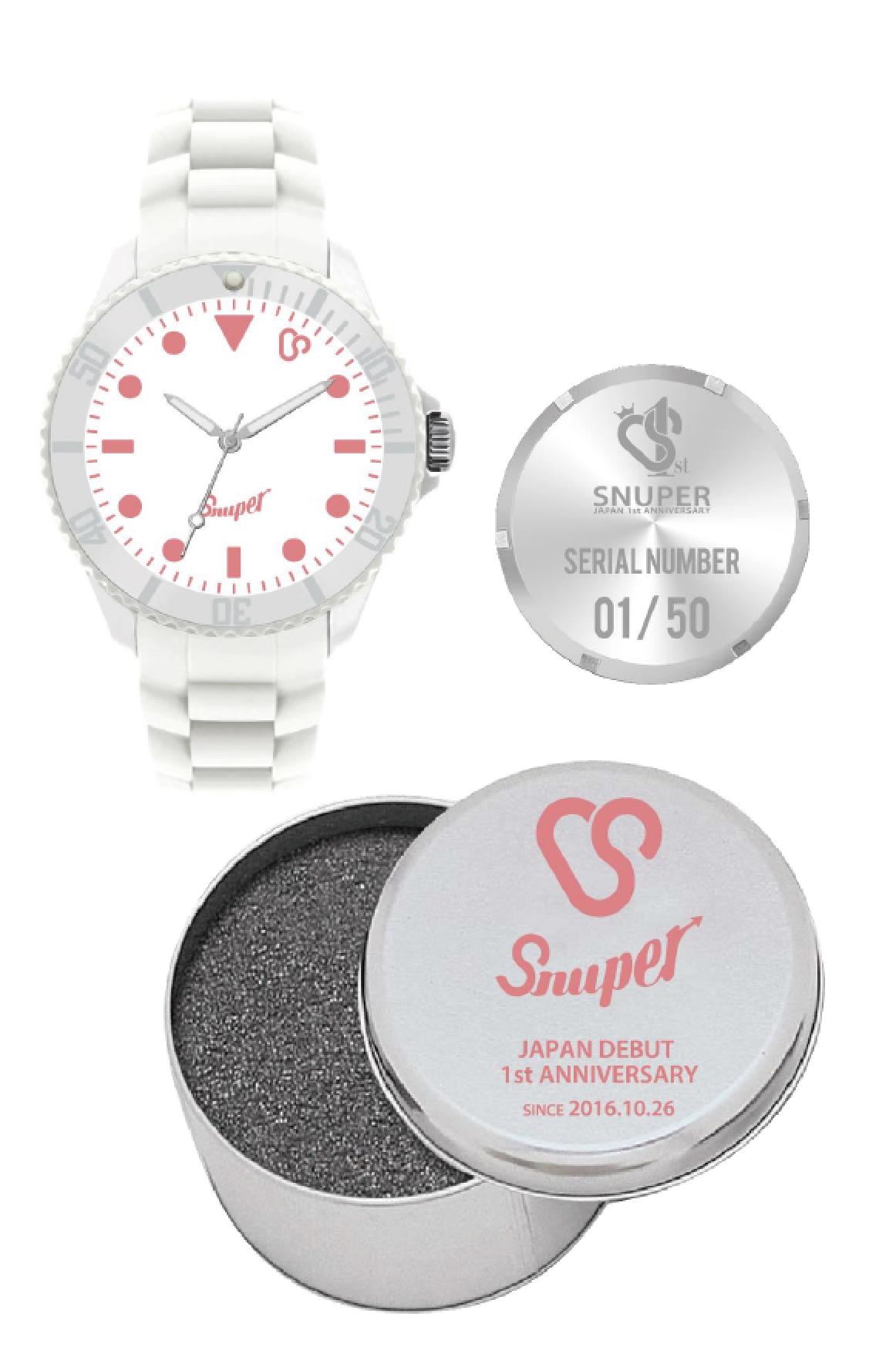 SNUPER日本デビュー1周年記念ウォッチ(「SWING JAPAN」会員様限定先着販売)【予約】