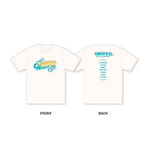 2018 SNUPER 2nd FANMEETING with SWING ~WONDERLAND~ Tシャツ (S/M/L)