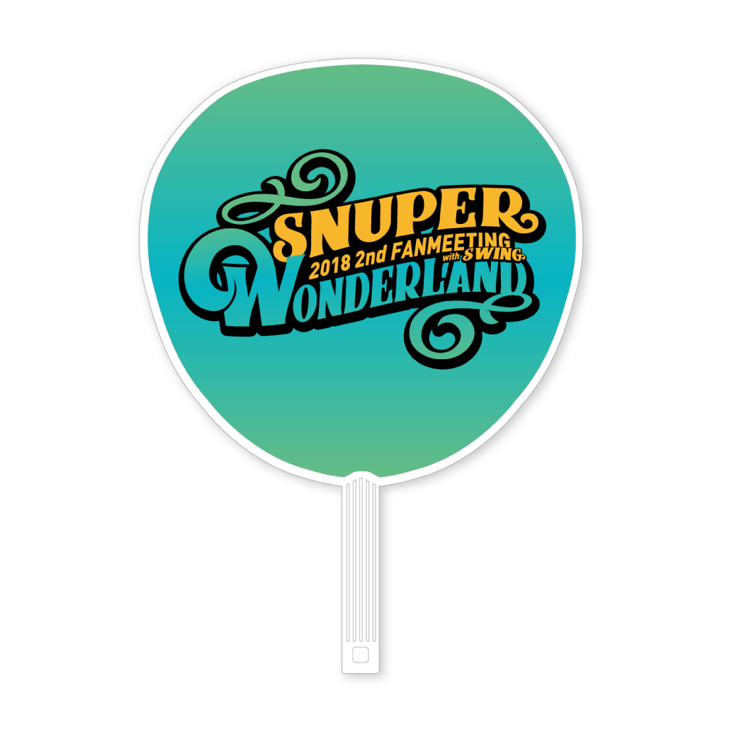 2018 SNUPER 2nd FANMEETING with SWING ~WONDERLAND~ BIGうちわ(全6種)