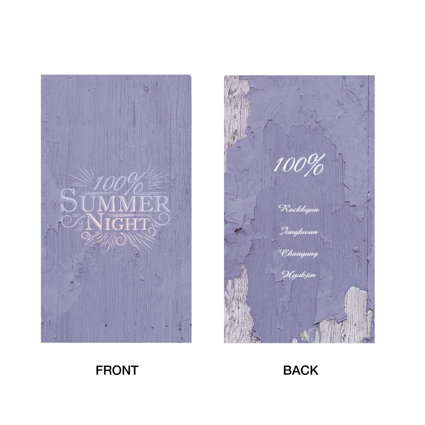 「100% PREMIUM SHOWTIME 2018 ~Summer Night~」チケットホルダー
