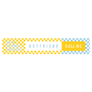BOYFRIEND 2018 SUMMER CONCERT ~CALL ME~ マフラータオル