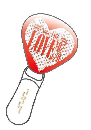 "100% Xmas LIVE 2016 ""LOVE%"" ペンライト"
