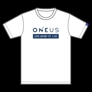 「2019 ONEUS JAPAN 1ST LIVE:光差!」Tシャツ(XL)