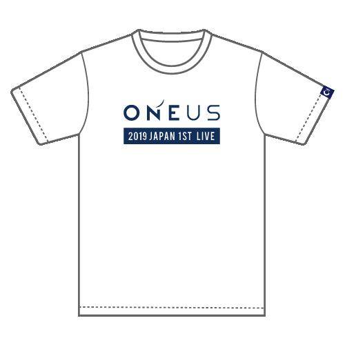 「2019 ONEUS JAPAN 1ST LIVE:光差!」Tシャツ(L)