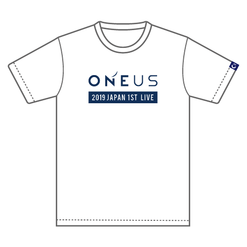 「2019 ONEUS JAPAN 1ST LIVE:光差!」Tシャツ(M)