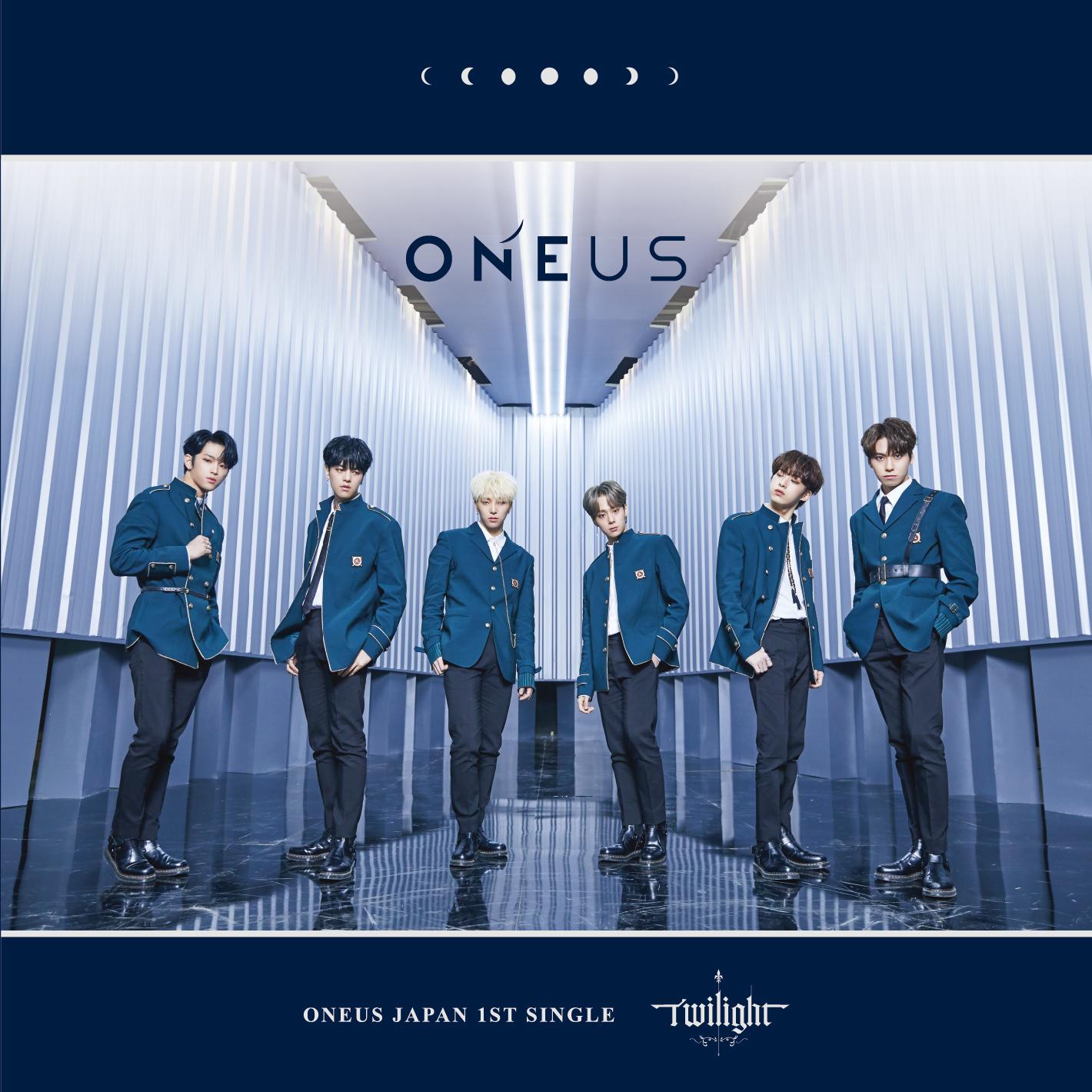 ONEUS Japan 1st Single「Twilight」通常盤A
