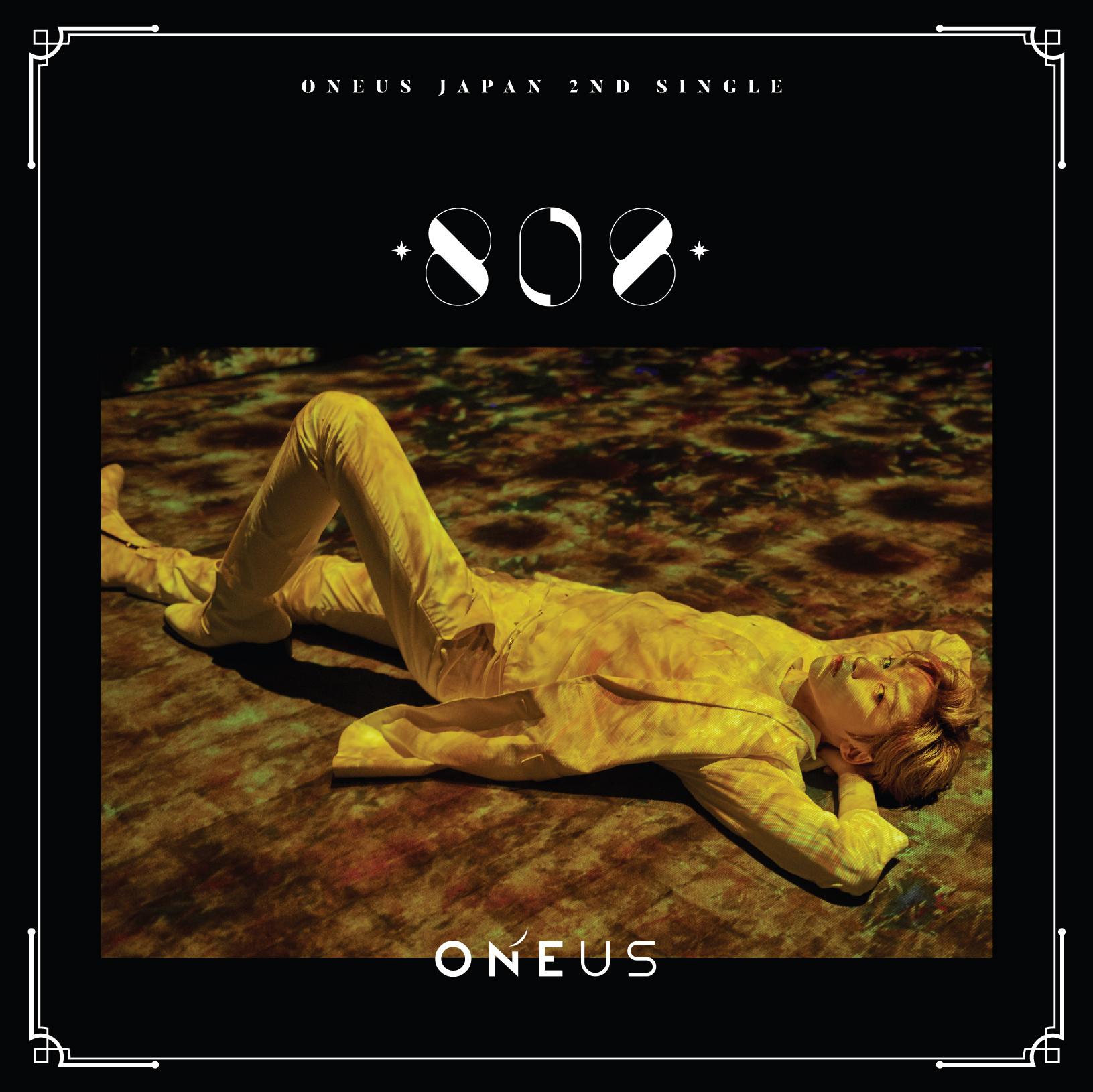 ONEUS Japan 2nd Single「808」メンバー別ジャケット盤(コンヒ)