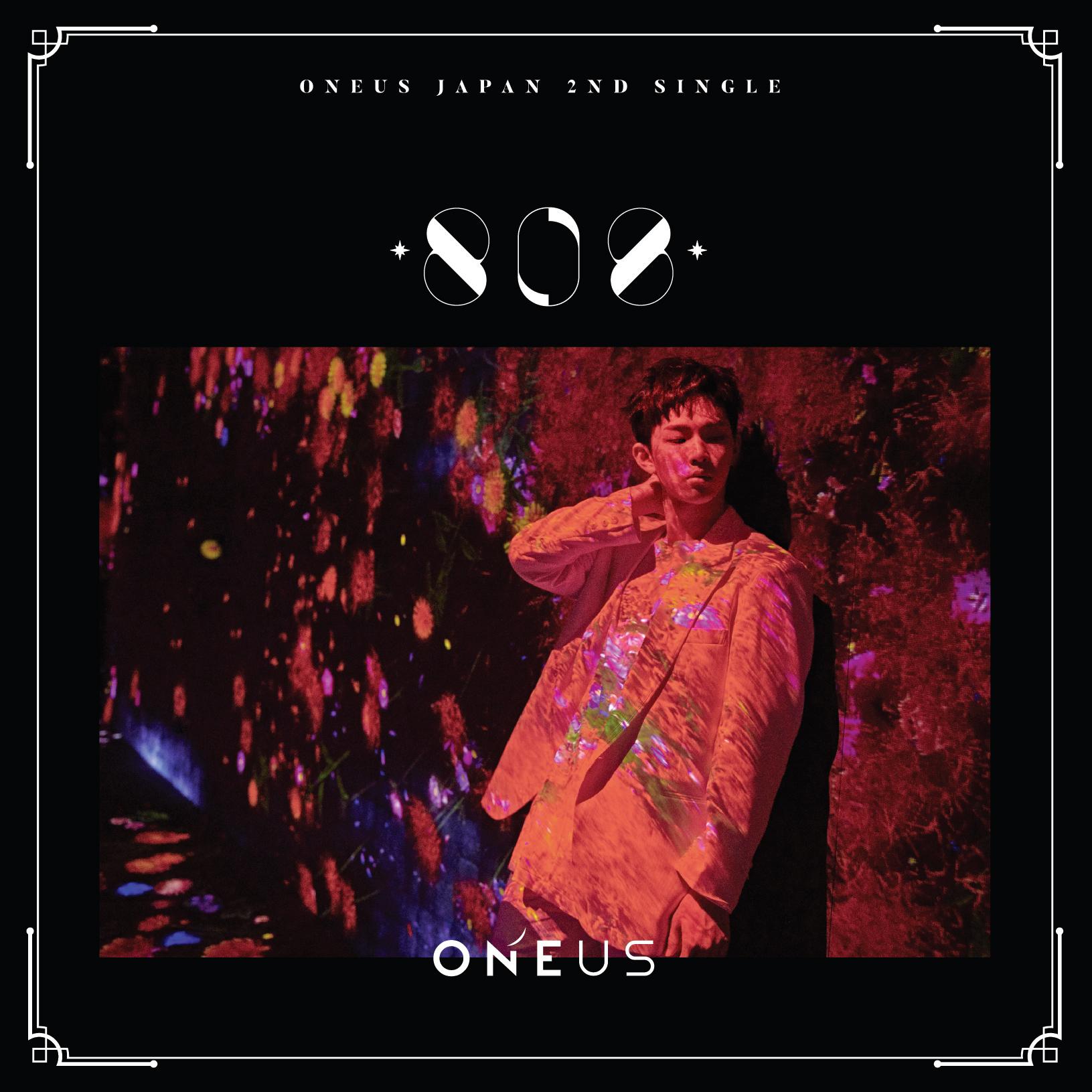 ONEUS Japan 2nd Single「808」メンバー別ジャケット盤(イド)
