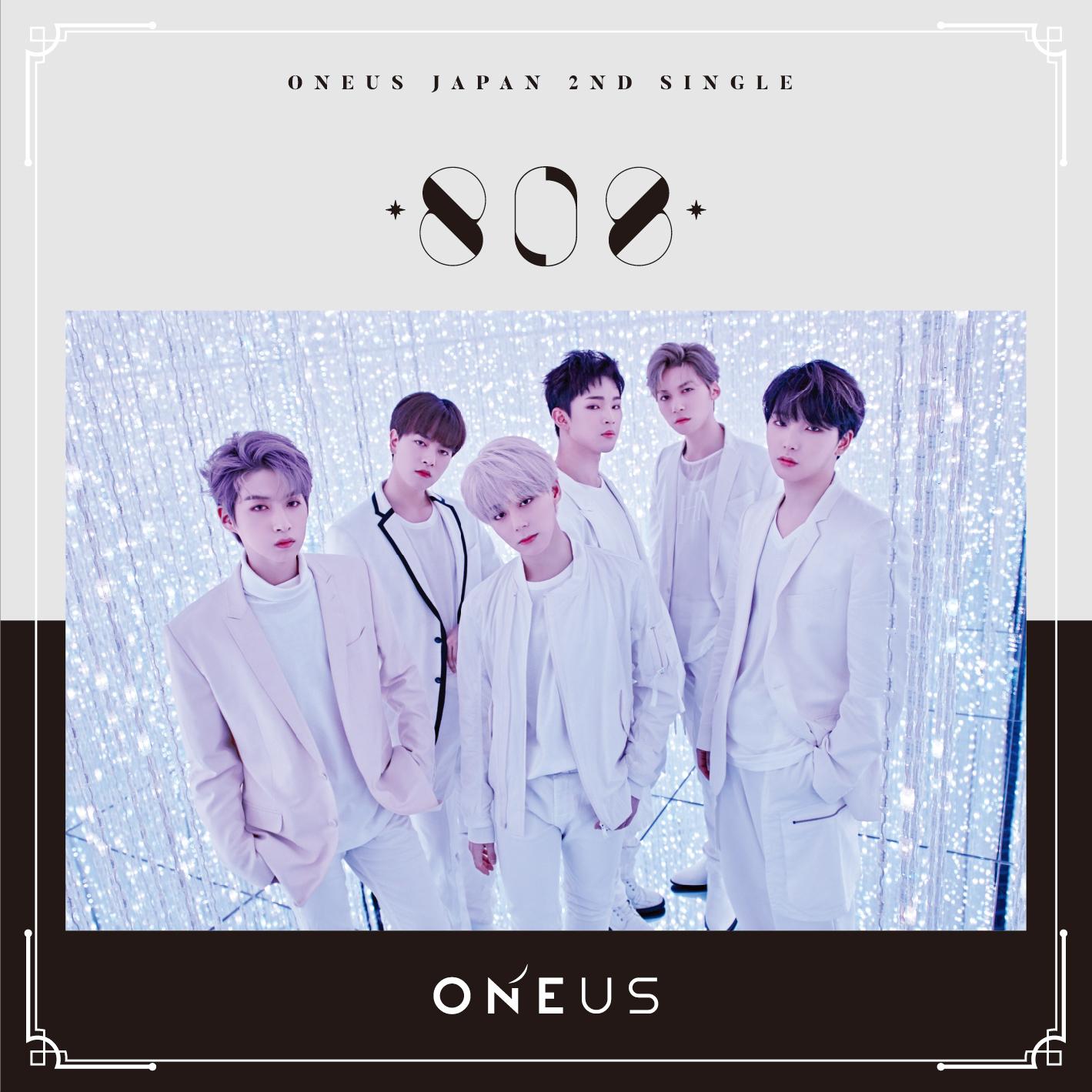 ONEUS Japan 2nd Single「808」通常盤B