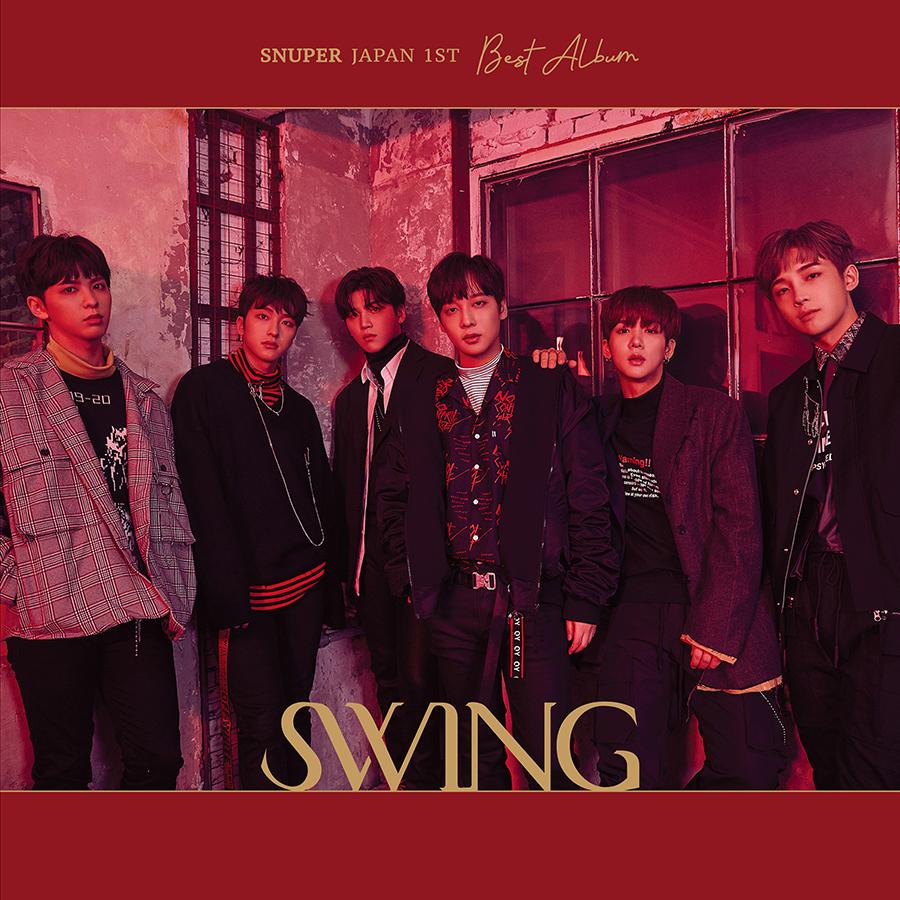 SNUPER 1st Album「SWING」 通常盤A
