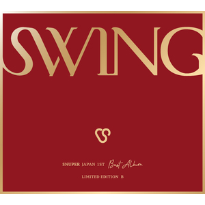 SNUPER 1st Album「SWING」 初回限定盤B