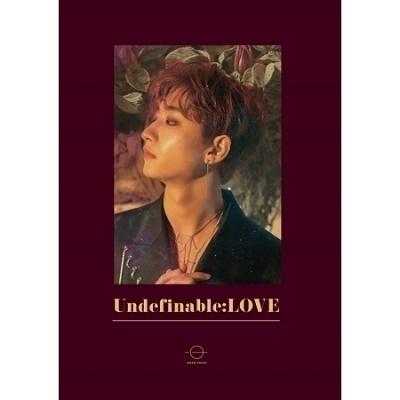 受付終了 HONG EUN KI 韓国 1st Mini Album「UNDEFINABLE:LOVE」抽選付き