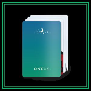 受付終了【ONEUS】トレカ3枚セット(全24種ランダム)