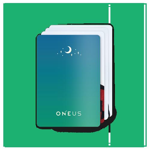 【ONEUS】トレカ3枚セット(全24種ランダム)