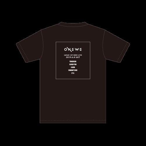 ONEWE JAPAN 1ST MINI LIVE ~PROLOGUE~ Tシャツ
