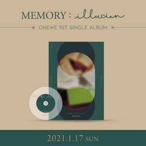 ONEWE 1ST SINGLE ALBUM [MEMORY : illusion] CALLWEVE オンラインサイン会抽選付き