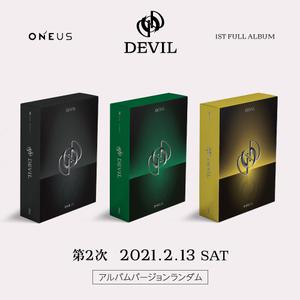 ONEUS 1ST FULL ALBUM「DEVIL」オンラインサイン会 2次抽選付き【2/13(土)】