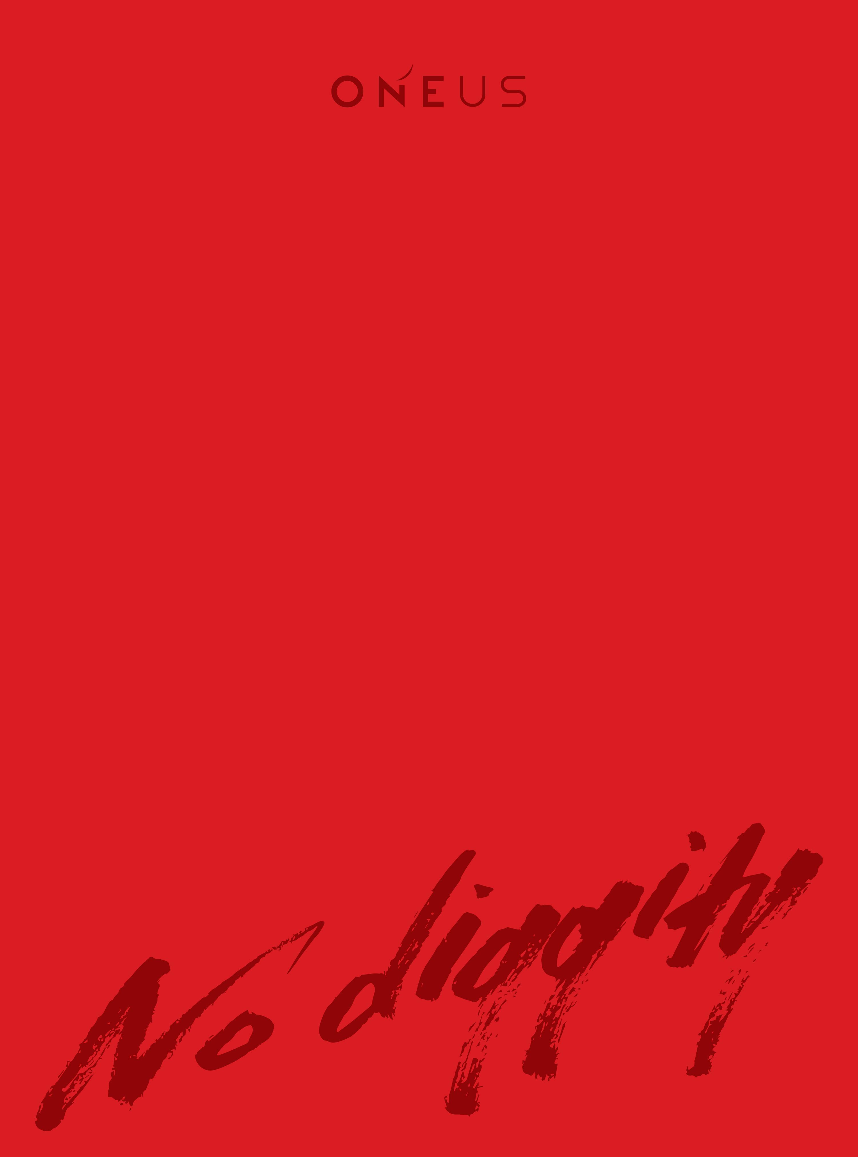 ONEUS Japan 3rd Single「No diggity」初回限定盤